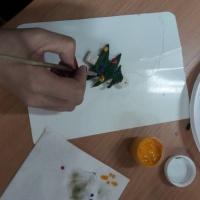 Мастер-класс для родителей «Роспись игрушки из солёного теста»