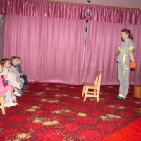 Фотоотчет о драматизации русской народной сказки «Колобок» с детьми раннего возраста