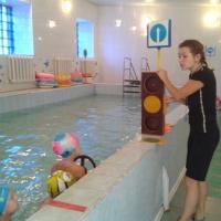 Конспект НОД по плаванию «Красный, Жёлтый, Зелёный»