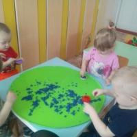Фотоотчет «Использование техники sand-play как элемент арт-технологии в работе с детьми дошкольного возраста»