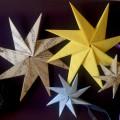 Мастер-класс «Новогодняя звездочка» из бумаги в технике оригами