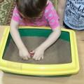 Игры с песком с детьми первой младшей группы