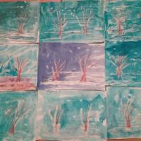 Конспект занятия по нетрадиционному рисованию с использованием свечи во второй младшей группе «Волшебные снежинки»