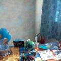 На выставке детско-родительских работ «Космос»