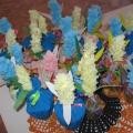 Первые цветы для моей мамочки