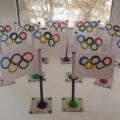 Мастер-класс по изготовлению Олимпийского флага