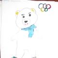 Олимпийские символы Сочинской Олимпиады глазами детей