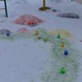 Оформление участка. «Раскрасим зиму яркими красками»