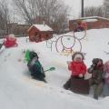 Фотоотчет «Зимние забавы в детском саду»