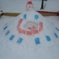 Оформление зимнего участка в детском саду