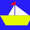 Конспект НОД в средней группе «Кораблик» (поздравительная открытка к 23 февраля)