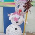 Конкурс детских поделок «Дефиле снеговиков.»