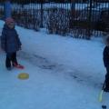 Наша зимняя прогулка