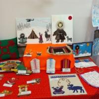 Выставка детских работ «Краски Ямала»
