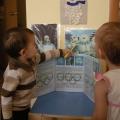 Деятельность детей первой младшей группы в течении недели олимпиады