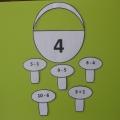 Дидактический материал для освоения арифметических примеров на сложение и вычитание для старших дошкольников