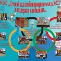 МДОУ «Детский сад комбинированного вида №222» в поддержку олимпийцев…