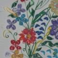Фотоотчёт «Цветы» (квилинг)