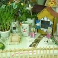 «Огород на подоконнике». Оформление детского сада