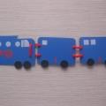 Дидактическая игра для детей «Математический поезд»