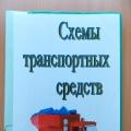Альбом для организации конструктивной деятельности дошкольников «Схемы транспортных средств»