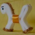 Лошадка из поролона
