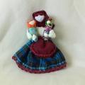 Творческая выставка кукол к проекту «Кто в куклы не играл, то счастья не видал»