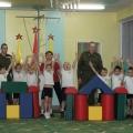Солдаты на спортивном празднике «День защитника Отечества»