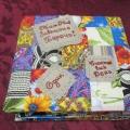 Детская рукописная книга «Нам мир завещано беречь»