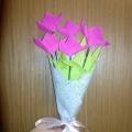 Идеи подарков к празднику 8 Марта! (продолжение). Мастер-класс подарка для бабушки: Букет цветов любимой бабушке.