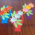 «Корзина цветов». Мастер-класс по изготовлению подарка к 8 марта