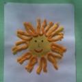 Аппликация «Солнышко» на Масленицу