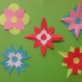 Цветы для мамочки (мастер-класс)