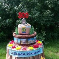 Декоративный торт к юбилею города