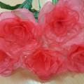 Мастер-класс «Розы из бросового материала»
