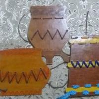 Дидактическая игра-шнуровка «Укрась якутскую посуду»