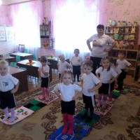 Дорожка здоровья в детском саду