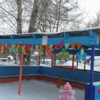 «Постройки из снега». Оформление детской площадки во второй младшей группе