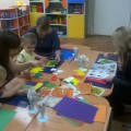 Мастер-класс с родителями «Осенняя фантазия» с использованием техники «Монотипия»