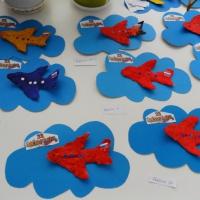 Фотоотчет «Самолеты для папы. Поделки к празднику 23 февраля»