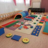 Спортивное оборудование по физической культуре в детском саду