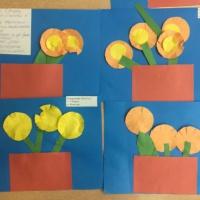 Занятие по аппликации «Изготовление поздравительной открытки к 8 Марта» в средней группе