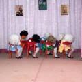 Фоторепортаж о мюзикле «Волк и семеро козлят» в детском саду «Радуга»