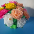 Идеи подарков к 8 марта. Совместные работы детей подготовительной группы и воспитателя