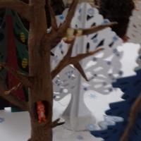 Занятие по ознакомлению с видами следов диких животных «Путешествие в зимний лес. Следы на снегу»