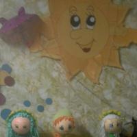 Куклы из фоамирана. Развитие творческих способностей детей дошкольного возраста c использованием нетрадиционных техник