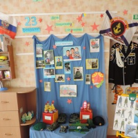 Мини-музей во второй младшей группе ко Дню Защитника Отечества «Слава Армии Родной!»