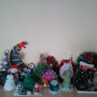 Фотоотчет о выставке «Новогоднее чудо…»