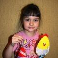 Мастер-класс по изготовлению пасхального сувенира «Пасхальный цыплёнок»