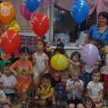 Фотоотчет День именинника в младшей группе «Клоун в гостях у ребят!»